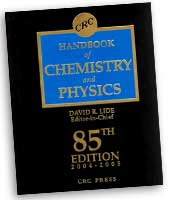 CRC Handbook of Chemistry and Physics, 85th Edition